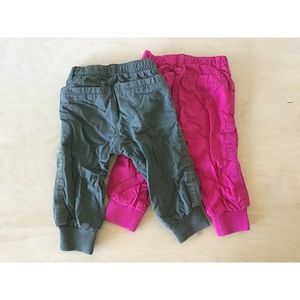 Old Navy Bottoms - Two Lined Toddler Joggers